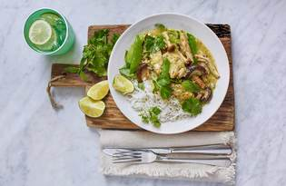 Pollo al Curry Verde Tailandese